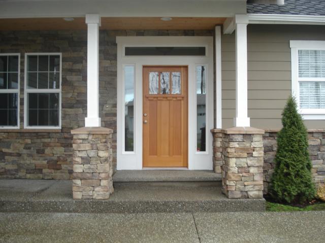 Project gallery raivo masonry for Eldorado stone outdoor kitchen cabinet